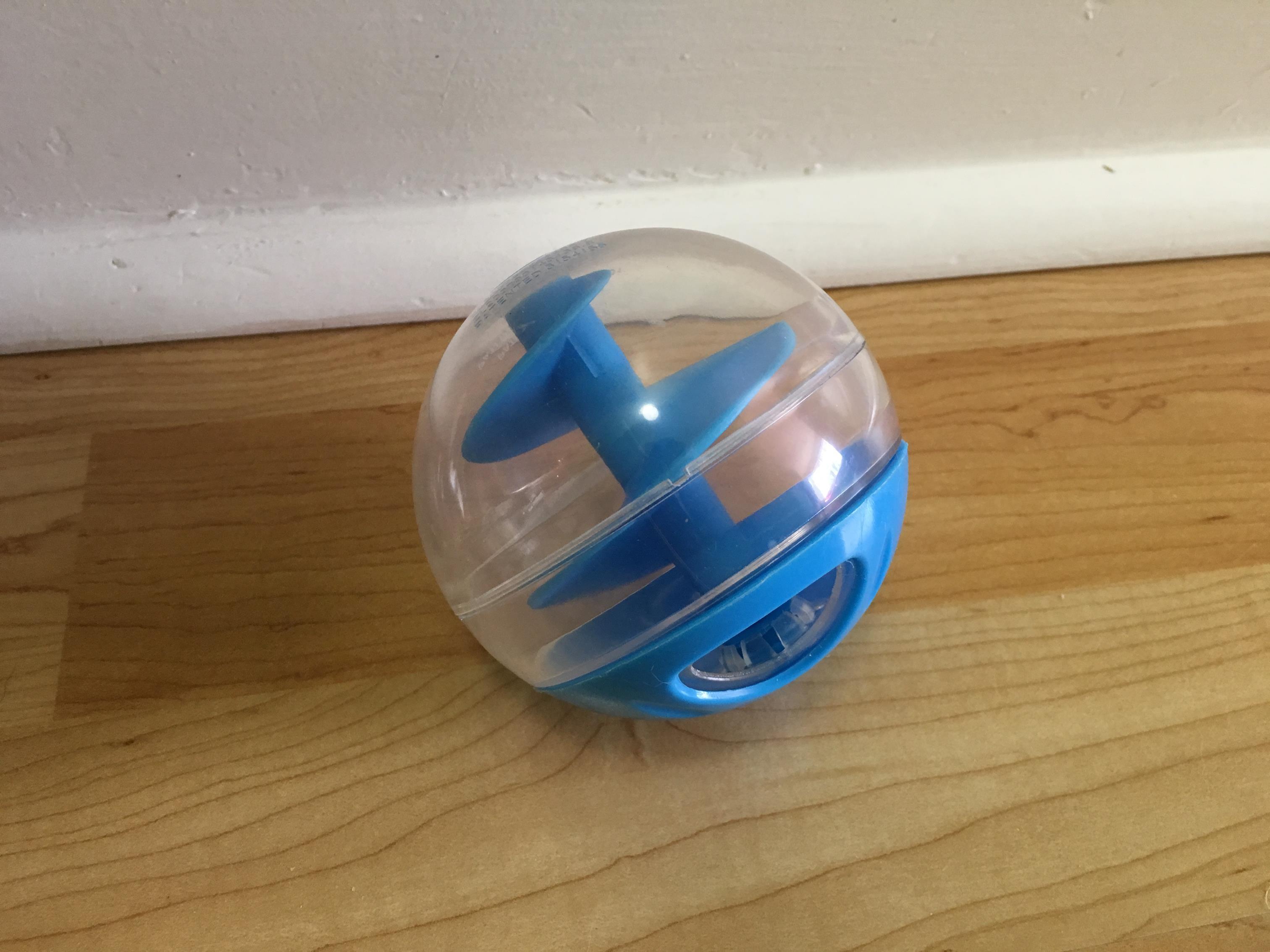 The Catit Treat Ball by Hagen.