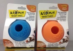 Atomic treat ball