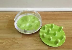 The Catit Treat Maze offers two options in one toy!
